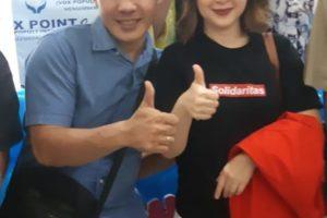 Bersama Partai Solidaritas Indonesia (PSI)